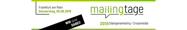 mailingtage 2019