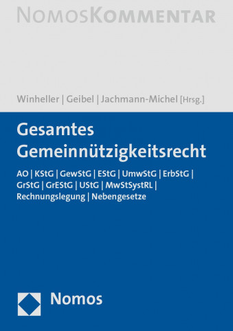 Cover Gemeinnützigkeitsrecht
