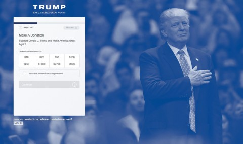 Trump Website