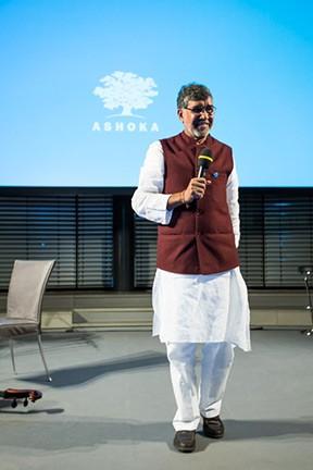 Friedensnobelpreisträger Kailash Satyarthi