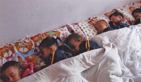 Auch die Kinder aus einem Waisenhaus profitierten von den Spenden aus Deutschland.