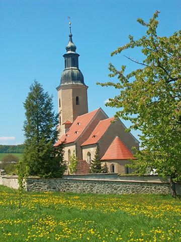 Bauernkirche St. Ursula in Friedersdorf