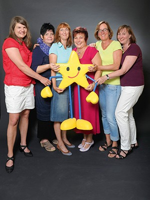 Das Team von Aktion Kindertraum