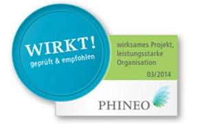 PHINEO Wirkt-Siegel