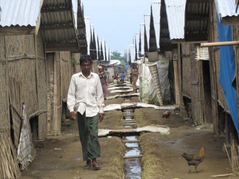 Rohingya im Flüchtlingscamp