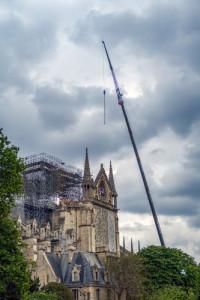 Wiederaufbau Glockenturm Notre Dame