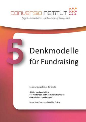 Buchcover 5 Denkmodelle Fundraising