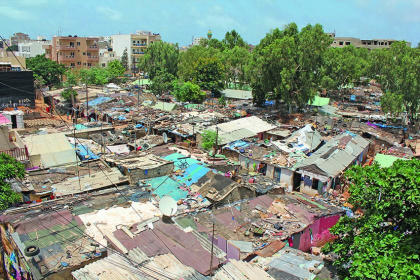 Der Slum Baraka in Dakar.